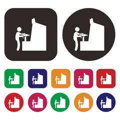 Arcade Game icon / Arcade Game Machine icon