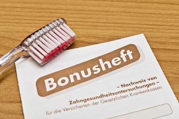Vorsorge Bonusheft