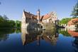 Leinwanddruck Bild - Burg Vischering in Lüdinghausen Münsterland, Deutschland