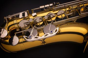 Tenor Saxophone close-up