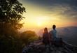 Leinwandbild Motiv Hikers