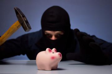 Einbrecher Sparschwein 2