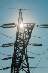 Enlighted Electrical Pylon