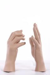 mannequin hand,