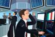 Stock trader in stress