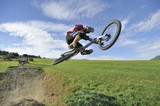 Extreme biking jump