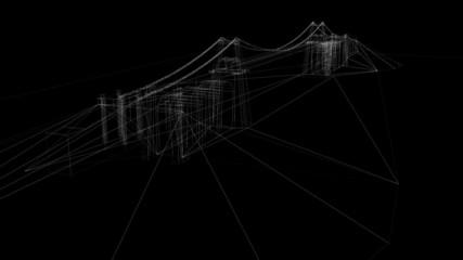 3d animatoin of bridge
