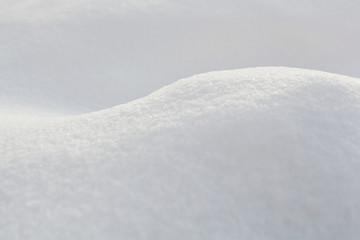 macro snow dune