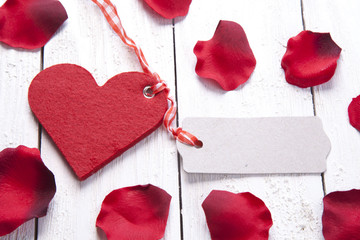 Herz mit Anhänger