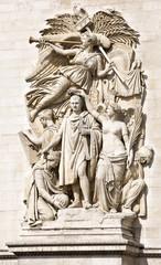 Le Triomphe de 1810, Arc de Triomphe, Paris, France