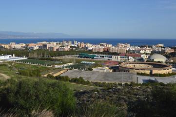 Torremolinos, panorámica, Málaga, Andalucía