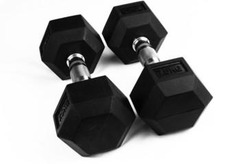 Two 7.5kg dumb-bells