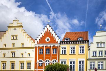 historische Hausfassaden