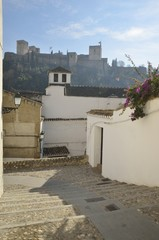 Alhambra from Albaycin, Spain
