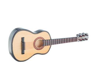 Little wooden guitar souvenir