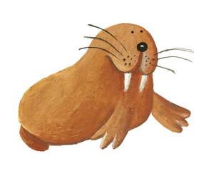 Cute Walrus