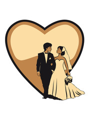 Marriage happy heart love marriage