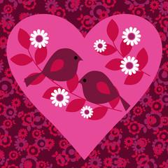 bird valentine