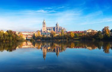 Salamanca with Tormes River