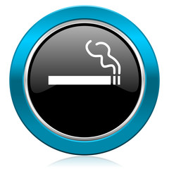 cigarette glossy icon nicotine sign