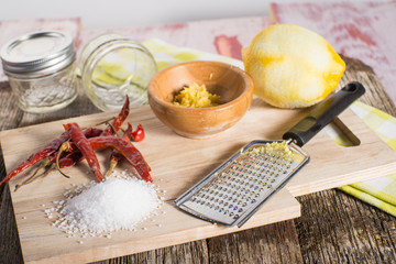 Homemade Finishing salt