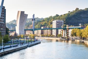 Bridge in Bilbao