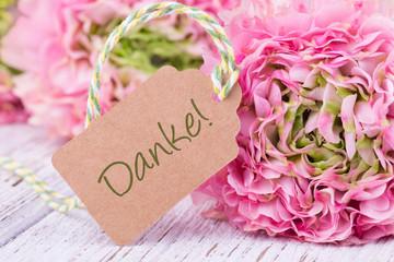 Sag Danke mit Blumen