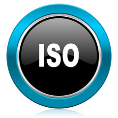 iso glossy icon