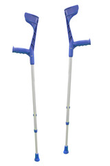 crutch for rehabilitation isolated