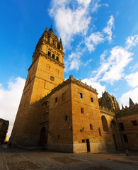 Tower of Cathedral in Salamanca