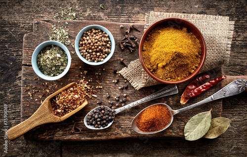 various spices - 75906169