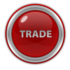 Trade circular icon on white background
