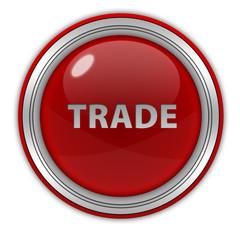 Trade circular icon on white background
