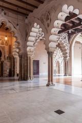 Aljaferia palace in Saragossa