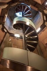 Stairway in Basilica de Nuestra Senora del Pilar in Zaragoza