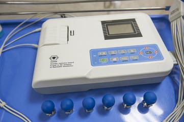 ECG machine in a hospital