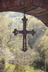 Cangas de Onis cross