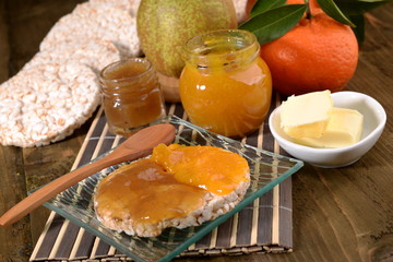 clementine marmalade and pear