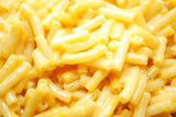 Close-Up of Prepared Macaroni & Cheese