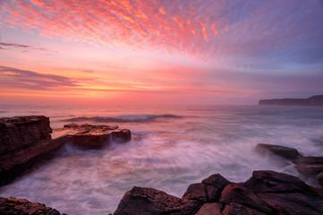 North Avoca sunrise seascape