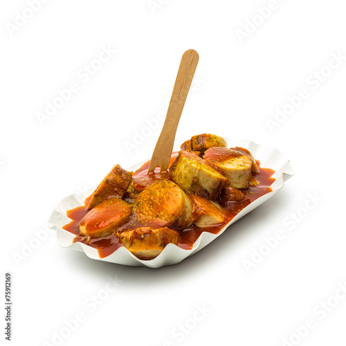 currywurst mit currypulver