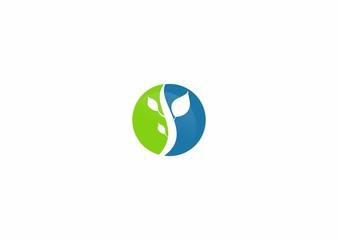 botany vector logo