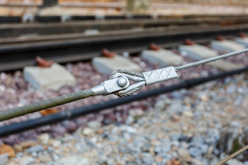 sling cable for support railway