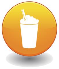 Blended drink vector