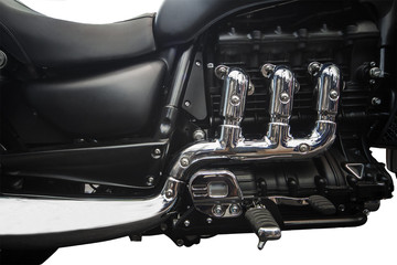 Motorcycle engine system