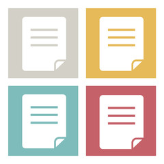 Files Documents Storage Data Information Online Vector Concept