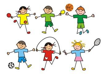 children, group
