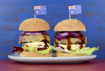 The Great Australian BBQ Burger