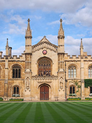 Corpus Christi College,  Cambridge University, England