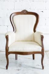 White Retro Chair